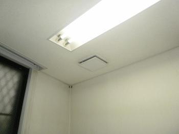 天井埋込換気扇2 取替前