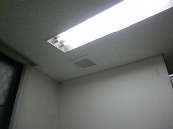 天井埋込換気扇2 取替完了
